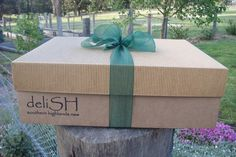 Recycled cardboard gift packaging