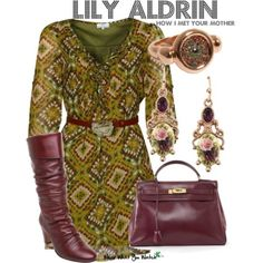 Lily aldrin...love her clothes!!!!