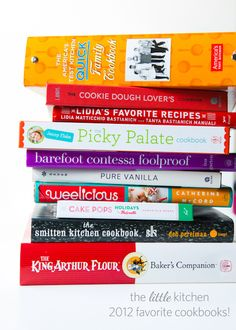 The Little Kitchen 2012 Favorite Cookbooks GIVEAWAY via @Julie | The Little Kitchen