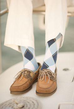 Preppy socks.