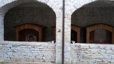 La mostra di presepi nel chiostro di Santa Maria a Vallo di Nera