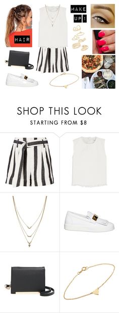 """28/07/17"" by milena-serranista ❤ liked on Polyvore featuring Frame, Marques'Almeida, NARS Cosmetics, Jessica Simpson, Giuseppe Zanotti, BP., Jennifer Meyer Jewelry and Topshop"