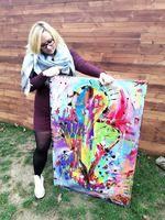 Elaine-lore Painting Abstract, Original Artwork, Tie Dye, Fantasy, Instagram, Fantasy Books, Tye Dye, Fantasia