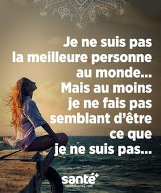 Love Quote & Saying Image Description Best Quotes, Love Quotes, Inspirational Quotes, Citation Cute, My Philosophy, French Quotes, Positive Attitude, True Words, Positive Affirmations