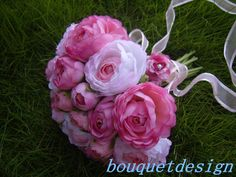 Wedding bouquet Bridal bouquet Fabric by bouquetdesign on Etsy, $58.99