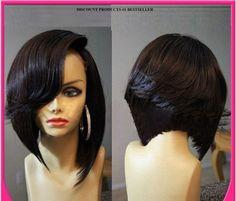 Brazilian Hair Bob Wig Straight 7A