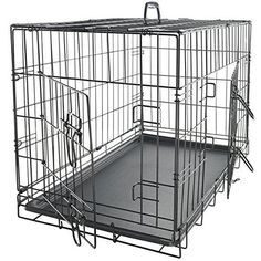 Pet Cage Playpen Metal Folding House  Crate Kennel 24'' Divider Dog Cat Pets New #PetCage