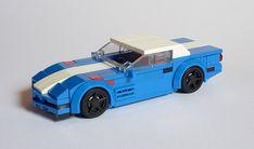 I turned my old Corvette in 1996 Corvette, Chevrolet Corvette C4, Lego Cars, Lego Speed Champions, Lego Vehicles, Lego Modular, Cool Lego Creations, Lego Projects, Custom Lego