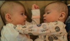 3 MONTH OLD TWINS FIRST FIGHT