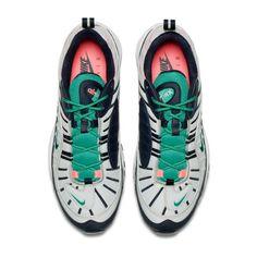 82b5e9c56d Nike Air Max 98 South Beach Pure Platinum Obsidian Kinetic Green 3890086-081