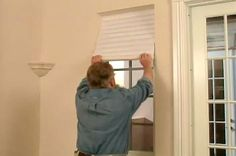 How to Use Temporary Paper Window Shades • Ron Hazelton Online • DIY Ideas & Projects