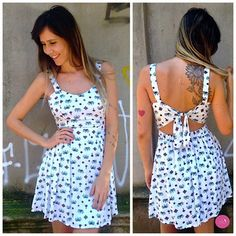 É muito charme envolvido nesse vestido! #Vemprazas