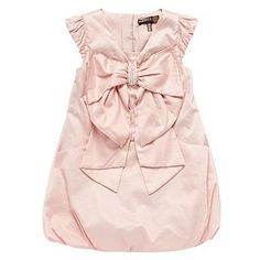 Girl's pale pink Ted Baker puffball dress, £38