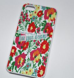 """""""Follow Your Heart, Live Your Dreams"""" Case from Good Vibe Cases"""