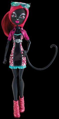 Monster high boo york, Boo york exclusive catty noir doll