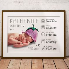 Costum Infographic Baby Announcement - Price 15€  https://inesilvamadureira9.wixsite.com/ninedesigncreations  Custom Infographic Poster with Baby Birth Details – Birth Announcement.  This listing is for a DIGITAL FILE (PDF), no physical item.  Dimensions:  7 x 10 inches.  A personalised custom infographic of your child's birth date. It makes a wonderful keepsake that you can treasure forever.  I'm happy to include any information you'd like, but here's a guide of what to include: - A photo…