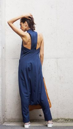 NEW Collection AW 2015 Sexy Navy Polyviscose Drop by Aakasha