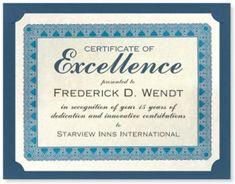 32 best award certificate templates images on pinterest award