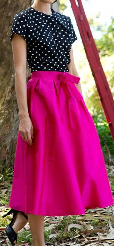 Not sure where I would wear this skirt but I love it!