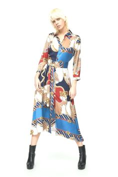 Item specifics Brand Name: None Pattern Type: Geometric Model Number: New african women's clothing Printed Skirt Outfit, Printed Skirts, Skirt Outfits, Vestidos Vintage, Vintage Dresses, Camisa Formal, Versace, Long Shirt Dress, Vestido Casual