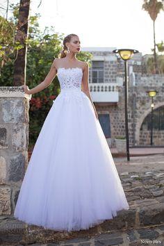 Nurit Hen Summer 2014 #bridal collection: strapless ball gown #wedding dress #weddinggown #weddingdress