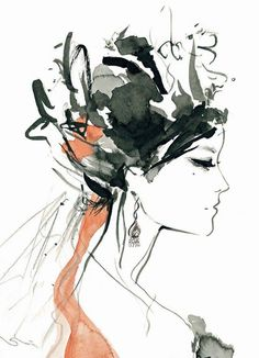 ZOYA paintings by Sharon Nayak, via Behance
