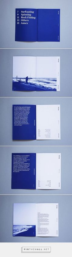 Fish&Tips on Behance. - a grouped images picture - Pin Them All Fish&Tips on Behance. Layout Design, Graphic Design Layouts, Print Layout, Web Design, Graphic Design Inspiration, Design Posters, Editorial Design, Editorial Layout, Mise En Page Web