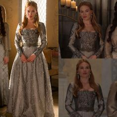 Lady Filipa de Semineli Reign Fashion, Fashion Tv, Fashion Outfits, Marie Stuart, Reign Tv Show, Reign Mary, Reign Dresses, Queen Outfit, Costumes