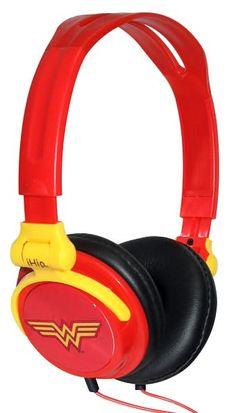 Wonder Woman DJ Headphones.