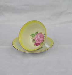 Vintage   Fine bone china  Cup and Saucer by by TheMewsCottage, £14.00