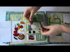 Quiet book for girls/ Dollhouse/Quiet book for toddlers/Felt book/Кукольный домик для Вари Baby Quiet Book, Girls Dollhouse, Quiet Book Patterns, Felt Quiet Books, Toddler Books, Book Quilt, Busy Book, Book Girl, Felt Crafts
