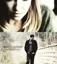 I don't think there's anything sadder than when two people are meant to be together and something intervenes... #FRINGE