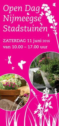 Tadaa! En hier is de nieuwe flyer van de Open Dag Nijmeegse Stadstuinen 2016! Ingrid Sewpersad zorgde als altijd voor weer een fraaie lay-out (www.is-ontwerp.nl)
