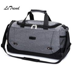 b021af3ddba8 Letrend Hand Travel Bag Men Carry On Suitcases High-capacity Luggage Men s  Handbags Women Bags