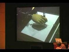 """Video of an automaton in action. Like the one in the book """"The Invention of Hugo Cabret"""" by Brian Selznick."""