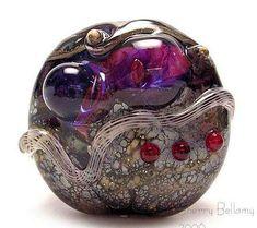 Sherry Bellamy's Glass Beads are Amazing #Jewelry trendhunter.com