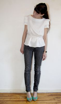 Jolies Bobines // Pattern runway new dress / top pattern