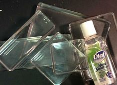 How to Clean Your Clear Blocks from Stampin' UP! #Tip #tools