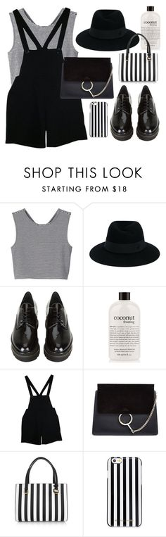 """""""i really need new clothes"""" by romydveen ❤ liked on Polyvore featuring Monki, Maison Michel, Stuart Weitzman, philosophy, American Apparel, Chloé, Dolce&Gabbana, MICHAEL Michael Kors, fashionset and fashionquote"""
