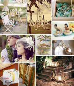 Swashbuckle The Aisle: A Gentler Side of Paradise: Vintage Hawaiian Inspired Wedding