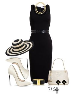 """""""Summer Hat"""" by pkoff ❤ liked on Polyvore featuring Casadei, Givenchy, Tory Burch and San Diego Hat Co."""