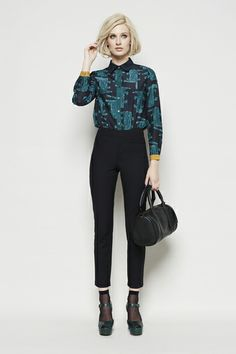 See You Later Alligator Shirt, Peggy Pant & Mini Duffle Bag by Gorman, View gorman's winter'14 lookbook here http://www.gormanshop.com.au/collections/winter-2014.html