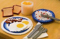 Breakfast hama beads - Kreativ Hobby