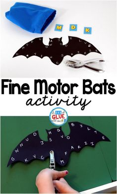 Fine Motor Bats is a