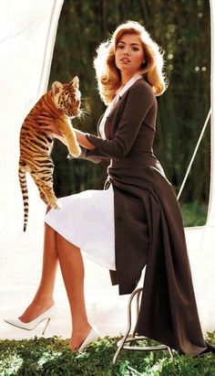 Kate Upton in Christian Dior, Spring 2013 photographed by Sebastian Faena for Harper's Bazaar UK, May 2013