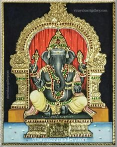 Tanjore Painting, Goddess Lakshmi, Gold Work, Online Painting, Reading Comprehension, Ganesha, Indian Art, Chennai, Folk