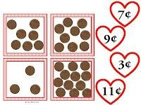 Valentine's Coin Center -  Pinned by @PediaStaff – Please Visit http://ht.ly/63sNt for all our pediatric therapy pins