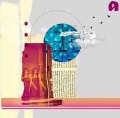Digital Collage Mixed Media art Modern art