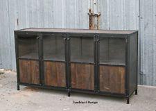 Vintage Industrial Display Case - Retail Fixture. Urban/Modern. Reclaimed Wood
