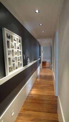Hogar diez: Decorar pasillos estrechos #decoración #hogar #pasillos www.hogardiez.com.es